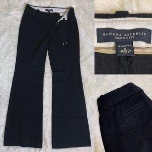 Banana Republic Slacks Trousers Black Pants 0